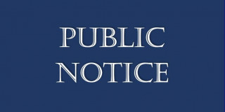 PUBLIC NOTICE OF INTENT TO AMEND PROCEDURE BY LAW